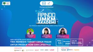 Webinar Trik Membidik Target Ceruk Pasar untuk Produk Hobi dan Lifestyle | TopKarir.com