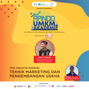 Webinar Sasa-Preneurship: Teknik Marketing dan Pengembangan Usaha | TopKarir.com