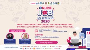 Online Job Matching 2020 - SMK Negeri 2 Lahat | TopKarir.com