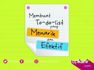 Membuat To-do-list yang Menarik dan Efektif | TopKarir.com