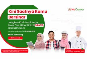 Program Tes Minat & Bakat GRATIS dari NUCareer Spesial untuk Para Nahdliyin   TopKarir.com