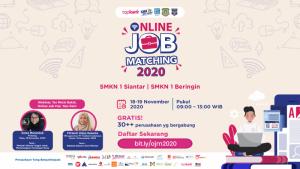 Online Job Matching 2020 - SMKN 1 Siantar & SMKN 1 Beringin   TopKarir.com