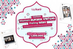 Kompetisi Foto Bukber Virtual Berhadiah Total 1,2 Juta untuk 3 Pemenang, Ikutan Sekarang! | TopKarir.com