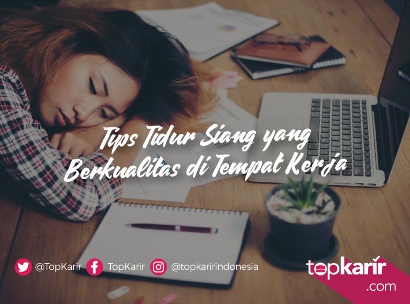 Tips Tidur Siang yang Berkualitas di Tempat Kerja