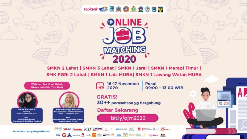 Online Job Matching 2020 - SMK Negeri 2 Lahat
