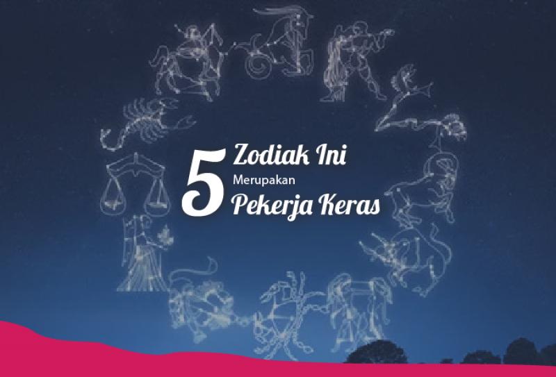 5 Tipe Zodiak ini Merupakan Pekerja Keras