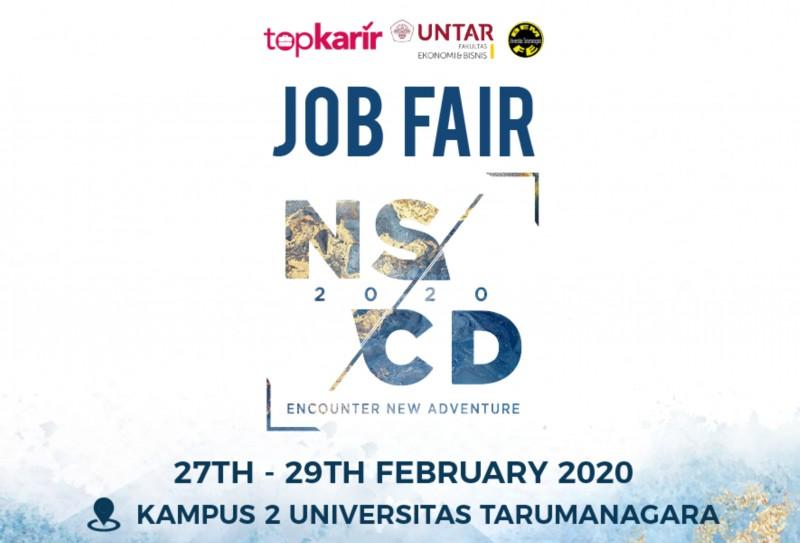 Job Fair NSCD 2020 : Menangkap Peluang Karir di Perusahaan Ternama