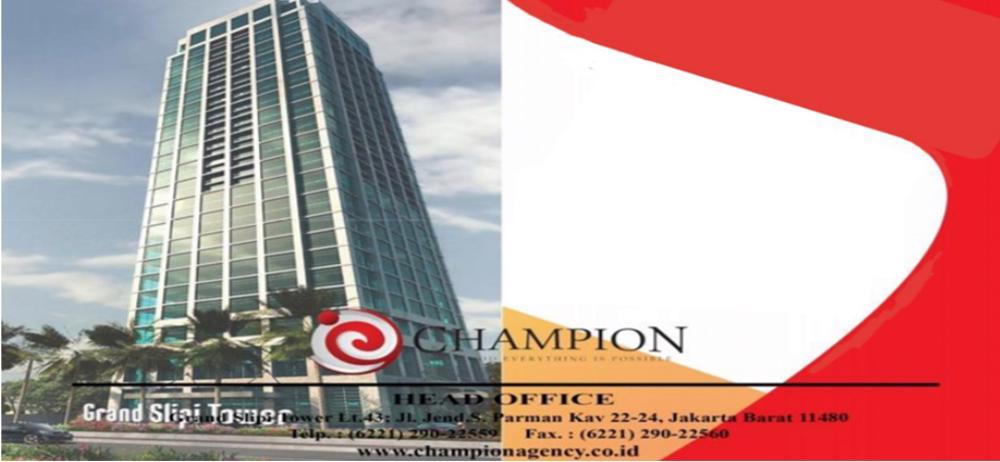 Lowongan Kerja  CHAMPION AGENCY | TopKarir.com