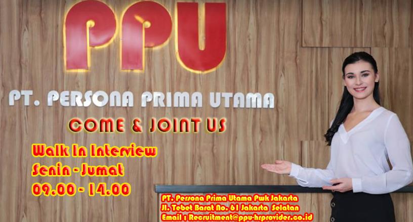 Lowongan Kerja  PT PERSONA PRIMA UTAMA | TopKarir.com