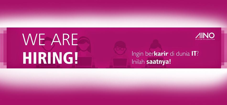 Lowongan Kerja PT. AINO INDONESIA | TopKarir.com