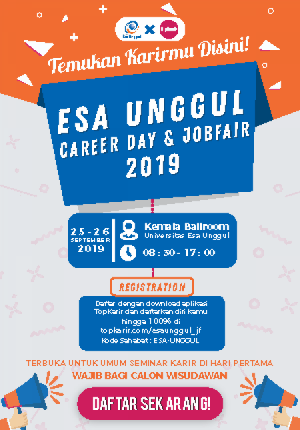 Esa Unggu Job Fair - TopKarir