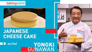 Cara Mudah Membuat Japanese Cheese Cake