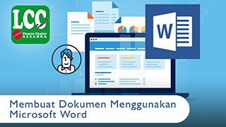 Membuat Dokumen dengan Microsoft Word