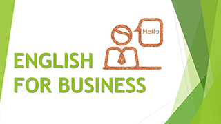 English for Bussines Course Outline
