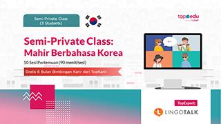 Semi-Private Class: Mahir Berbahasa Korea
