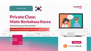Private Class: Mahir Berbahasa Korea